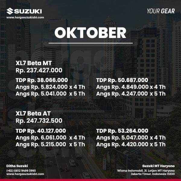 XL7 Beta Oktober